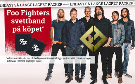 Foo Fighters svettband på köpet*