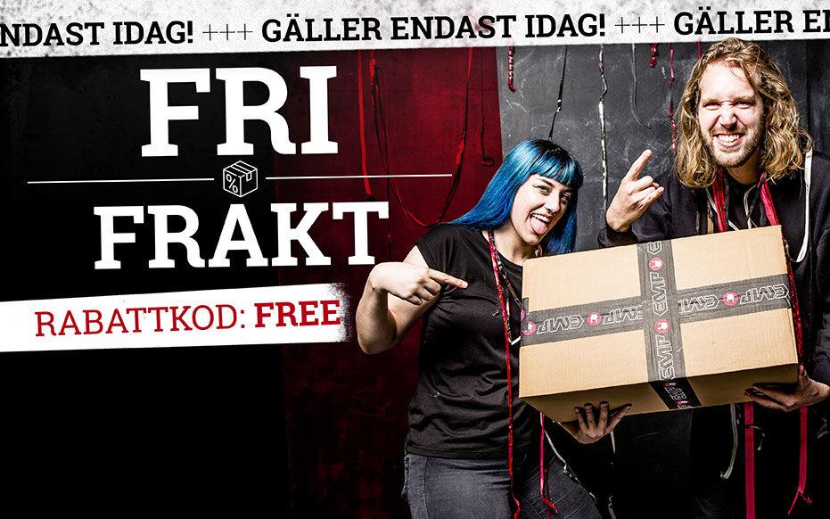 FRI FRAKT!*