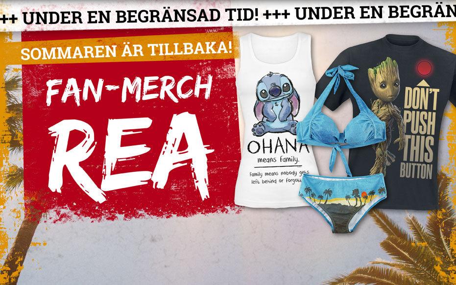 Fan-merch - Nu på REA!