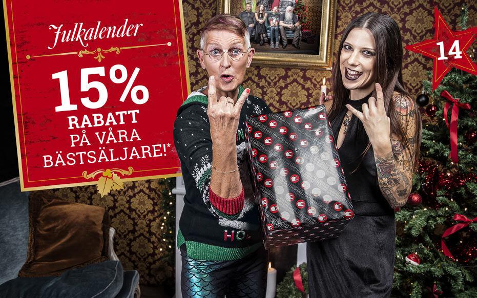 15% RABATT på våra BÄSTSÄLJARE!*