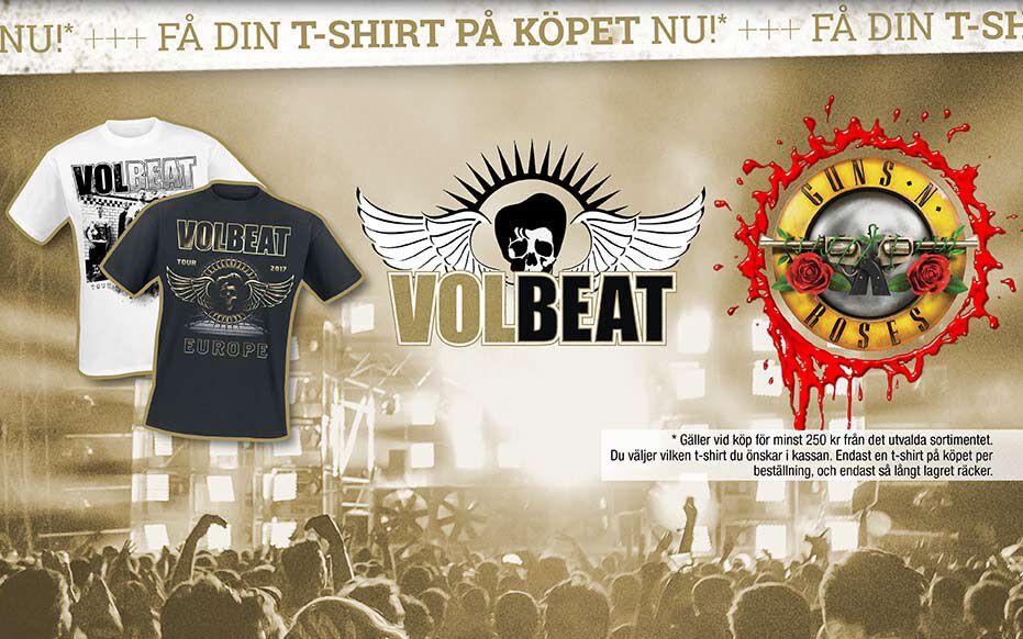 På turné tillsammans! Få t-shirt på köpet!
