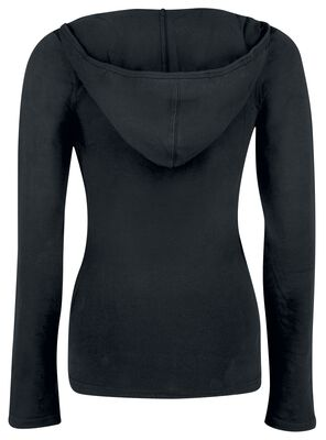 Lace Wrapping Hoodie
