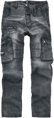 Pete - jeans i cargostil