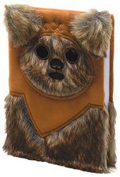 Ewok - Anteckningsbok (fluffig)