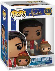 Aladdin of Agrabah with Abu vinylfigur 538