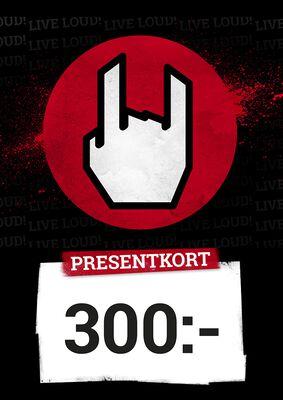 Presentkort 300,00 SEK