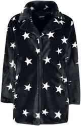 Starry Eyes Faux Fur Coat