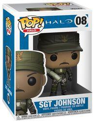 Sgt. Johnson (Cigar) (Chase-möjlighet) vinylfigur 08