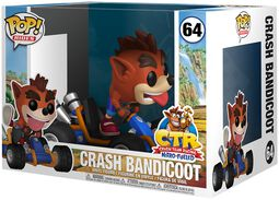 Crash Bandicoot POP Rides vinylfigur 64