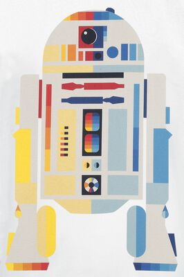 Episode 4 - A New Hope - R2D2 Neon