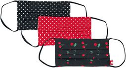 Dots and Cherries 3-pack