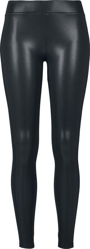 Ladies Faux Leather Leggings