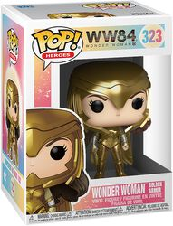 1984 - Wonder Woman Golden Armor vinylfigur 323