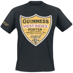 Guinness West Indies Porter Label