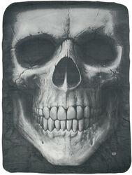 Solemn Skull fleecefilt