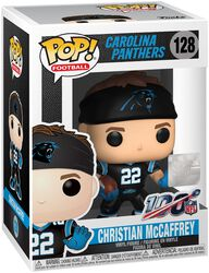 Carolina Panthers - Christian McCaffrey vinylfigur 128