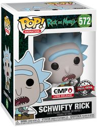 Schwifty Rick vinylfigur 572