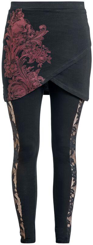 2 i 1: Leggings och kjol