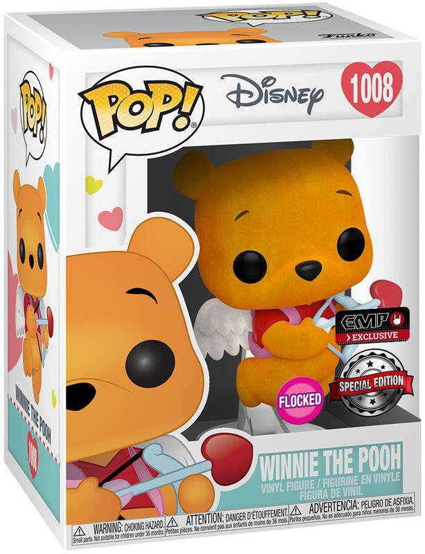 Winnie the Pooh (Valentine)(Flocked) vinylfigur 1008