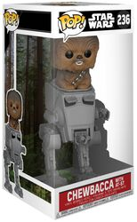 Chewbacca with AT-ST Deluxe Pop! vinylfigur 236