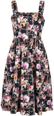 Colourful Garden Swing Dress