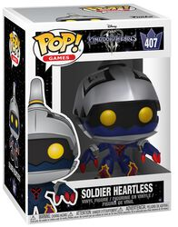 3 - Soldier Heartless vinylfigur 407