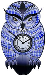 Väggur i akryl Owl