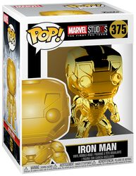Marvel Studios 10 - Iron Man (Chrome) vinylfigur 375