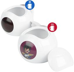 Vegeta Spaceship - Heat-Change Mug