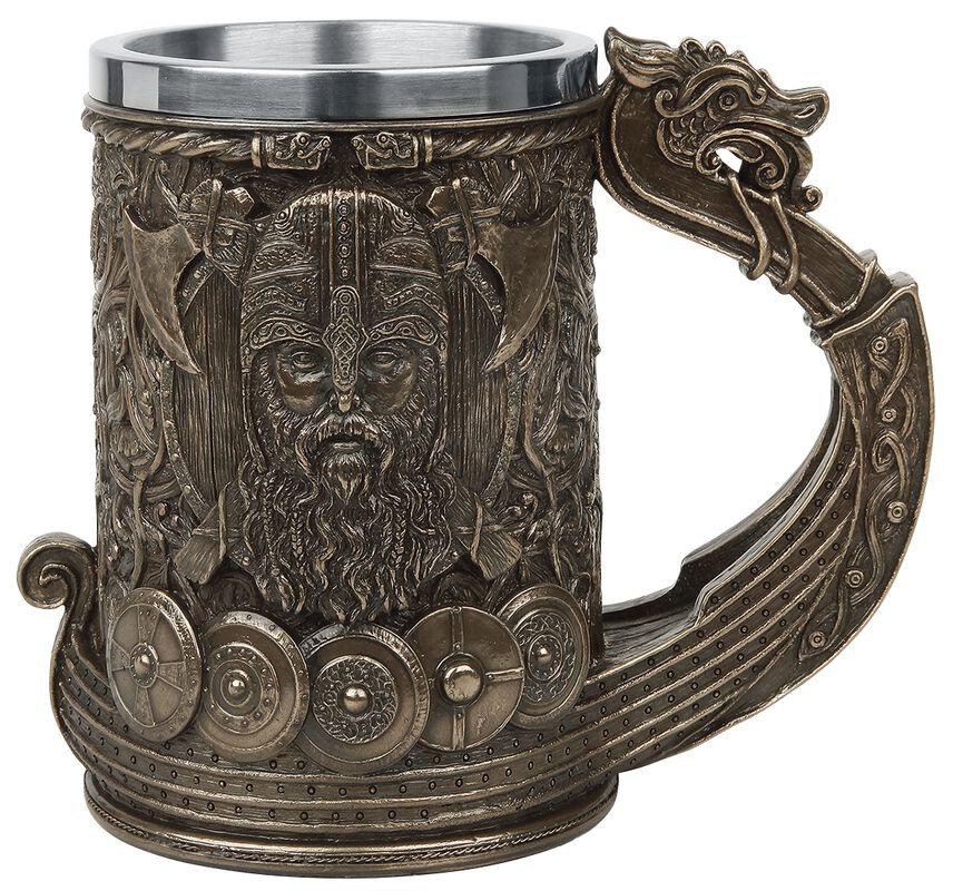 Bronze Drakkar Viking