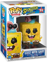 3 - Spongebob with Gary vinylfigur 916