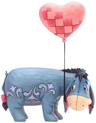 I-or med hjärtballong - figur