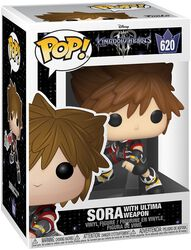3 - Sora with Ultima Weapon vinylfigur 620