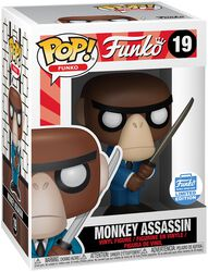 Fantastik Plastik - Monkey Assassin (Funko Shop Europe) vinylfigur 19