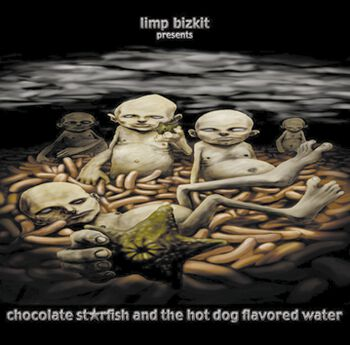 Chocolate starfish and the hot dog flavoured water