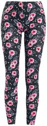 Colourful Leggings With Floral Print