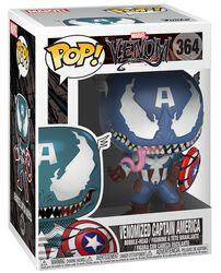 Venomized Captain America vinylfigur 364