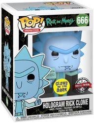Hologram Rick Clone vinylfigur 666