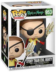 Story Train Evil Morty vinylfigur 953