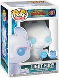 3 - Light Fury (Glitter) (Funko Shop Europe) vinylfigur 687