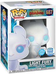 3 - Light Fury (Glitter) (Funko Shop Europe) vinylfigur 687