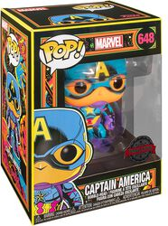 Black Light - Captain America vinylfigur 648