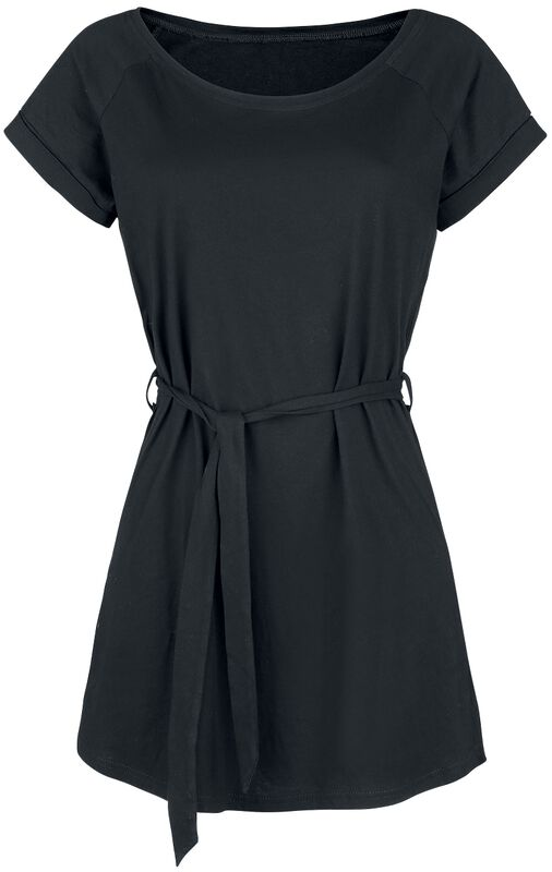 Jersey Dress With Tie Waist