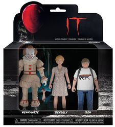 Set 2 - Pennywise, Ben and Beverly
