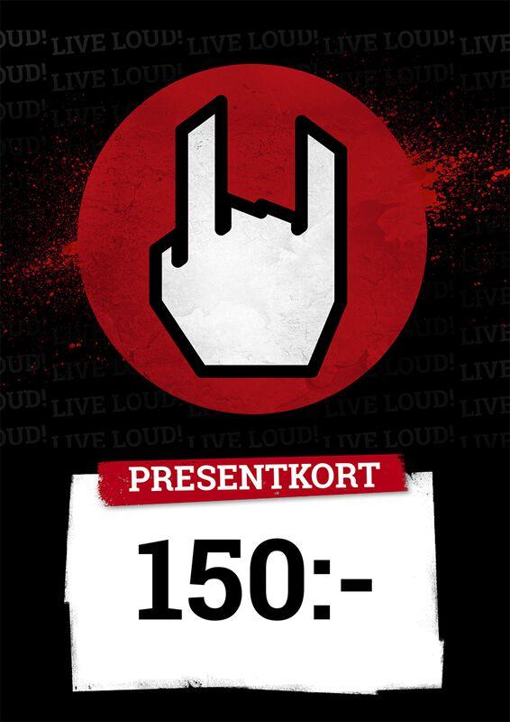 Presentkort 150,00 SEK