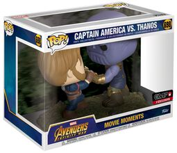 Infinity War - Captain America vs Thanos (Movie Moments) vinylfigur 698
