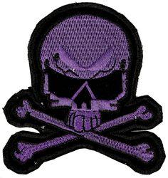 Large Purple Skull Patch