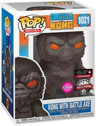 Kong with Battle Axe (Flocked) vinylfigur 1021