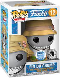 Fantastik Plastik - Fin Du Chomp (Funko Shop Europe) vinylfigur 12
