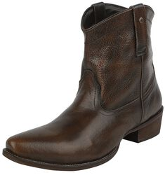 Svart/bruna cowboyboots